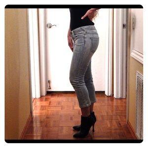 Bebe Cropped Jeans Size 27